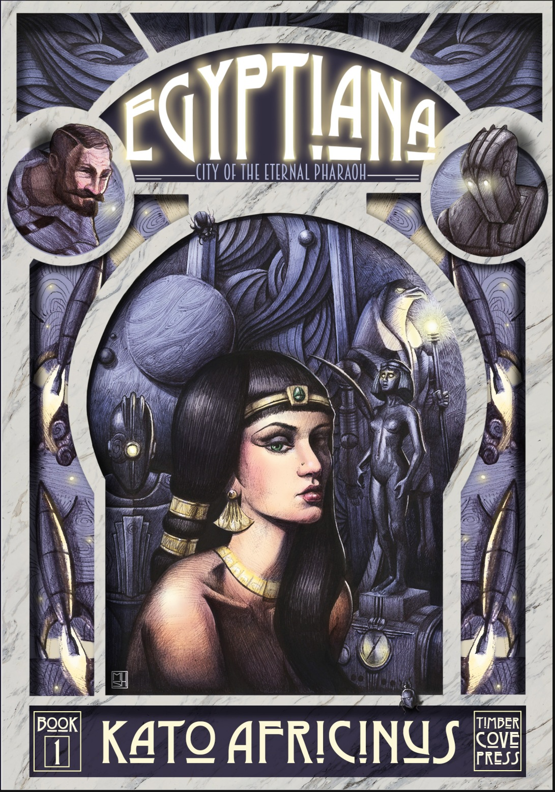 Egyptiana Front Cover